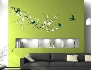 sienu dekoravimas